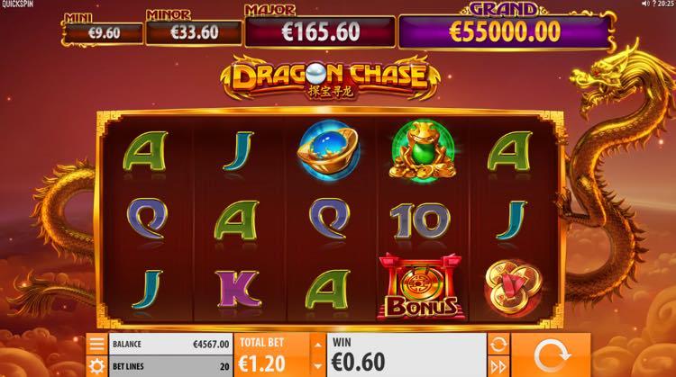 Dragon Chase   Spilleautomat fra Quickspin